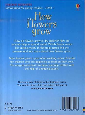 How Flowers Grow - Beginners Series (Hardback)