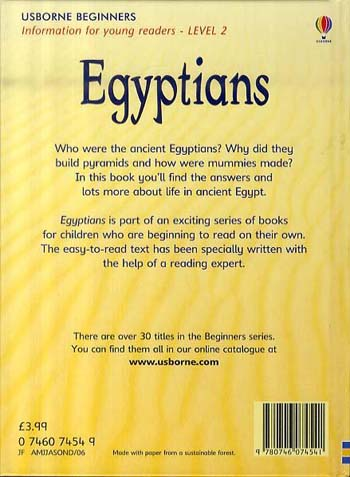 Egyptians - Beginners Series (Hardback)