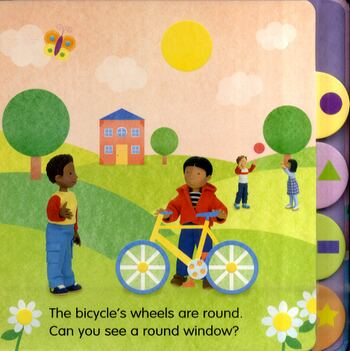 Shapes - Look and Say (Board book)
