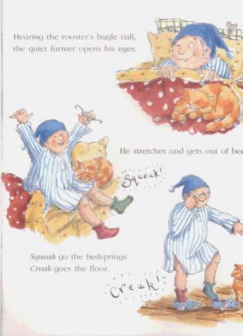The Noisy Farm (Paperback)
