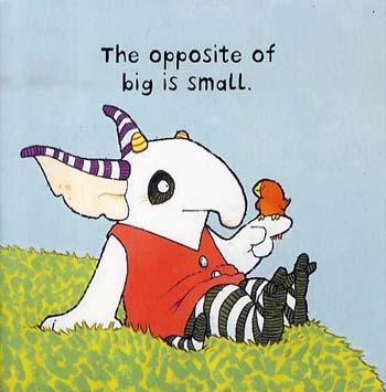 Little Monster's Book of Opposites (Board book)