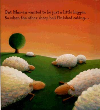 Marvin Wanted More (Board book)
