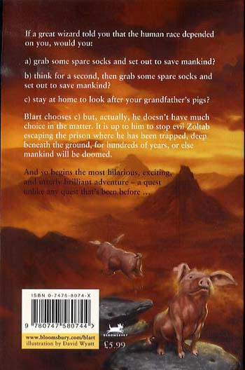 The Boy Who Didn't Want to Save the World - Blart (Paperback)