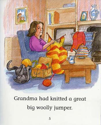 The Big Woolly Jumper - Reading Corner (Paperback)