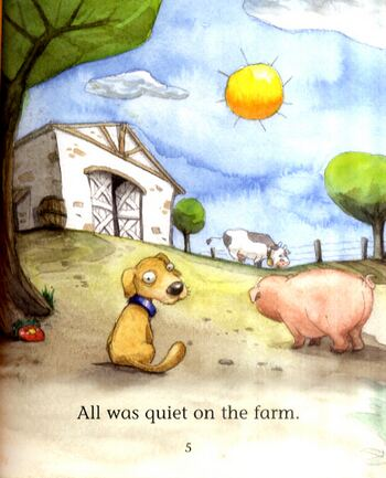 What's in the Barn? - Reading Corner (Paperback)