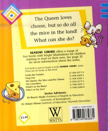 The Queen, The Mice and The Cheese - Reading Corner (Paperback)
