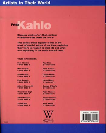 Frida Kahlo - Artists in Their World 26 (Paperback)