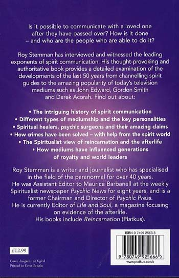 Spirit Communication: An Investigation into the Extraordinary World of Mediums, Psychics and the Afterlife (Paperback)