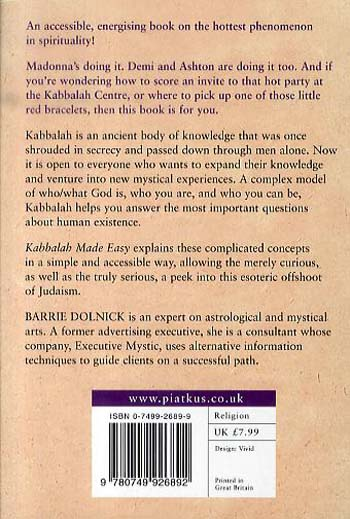 Kabbalah Made Easy: Ancient mystical wisdom decoded for modern life (Paperback)