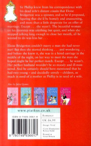 Bridgerton: To Sir Phillip, With Love (Bridgertons Book 5) - Bridgerton Family (Paperback)