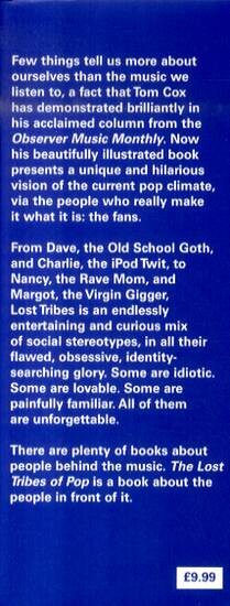 The Lost Tribes Of Pop: Goths, folkies, iPod twits and other musical stereotypes (Hardback)