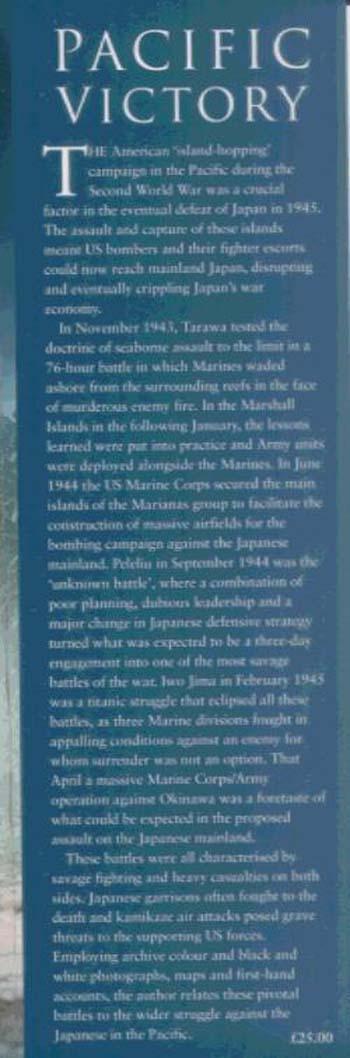 Pacific Victory: Tarawa to Okinawa 1943-1945 (Hardback)