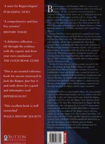 Jack The Ripper: Letters from Hell (Paperback)