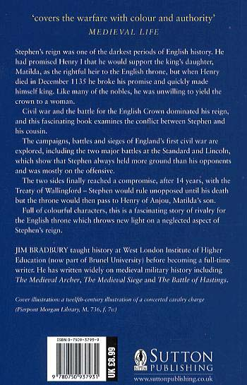 Stephen and Matilda: The Civil War of 1139-53 (Paperback)