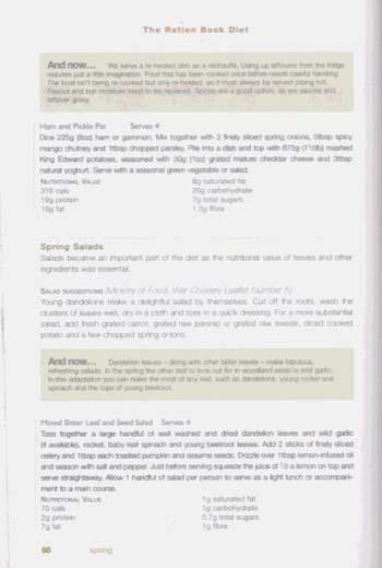 The Ration Book Diet (Hardback)