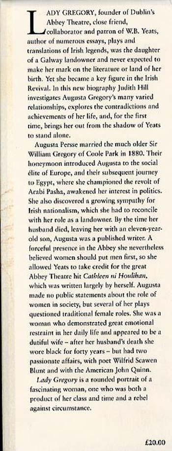 Lady Gregory: An Irish Life (Hardback)