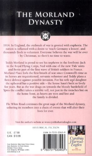 The White Road: The Morland Dynasty, Book 28 - Morland Dynasty (Paperback)