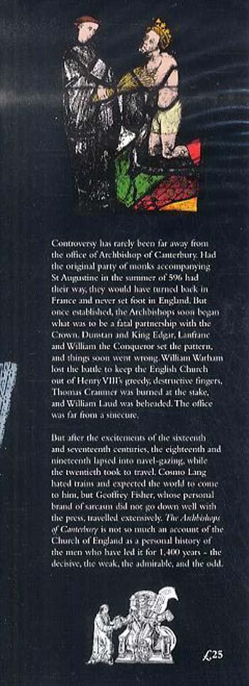 Archbishops of Canterbury: A History (Hardback)