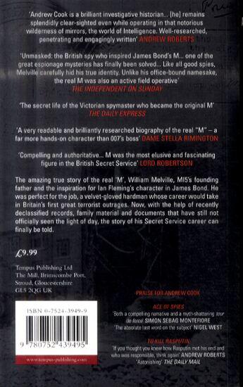 M: MI5's First Spymaster (Paperback)