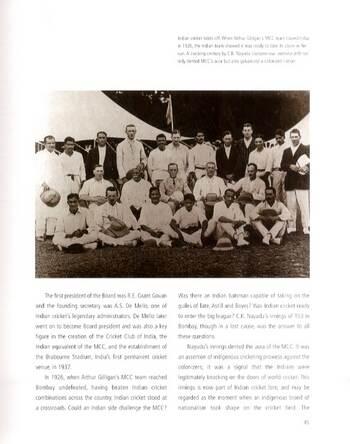 The Illustrated History of Indian Cricket (Hardback)