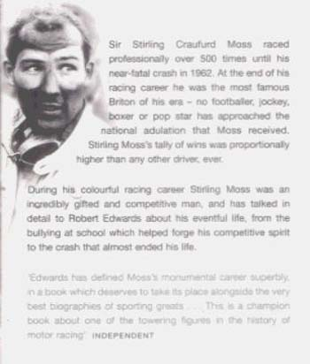 Stirling Moss: The Authorised Biography (Paperback)