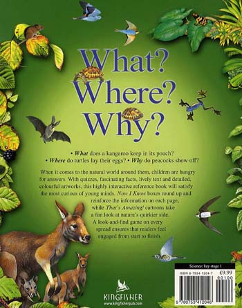 What? Where? Why?: Questions and Answers About Nature (Paperback)
