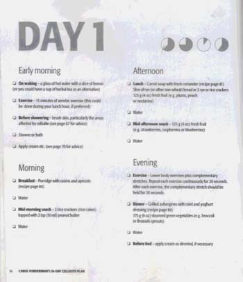 Carol Vorderman's 30-Day Cellulite Plan (Paperback)
