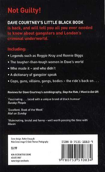 Dave Courtney's Little Black Book (Paperback)