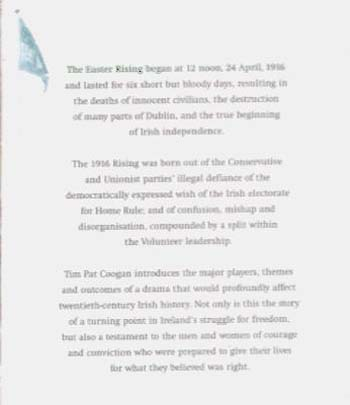 1916: The Easter Rising (Paperback)