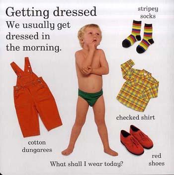 Clothes - Learn-a-word Picture Board Books S. (Board book)
