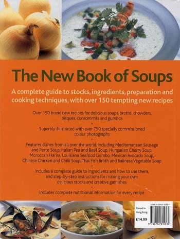 New Book of Soups (Hardback)