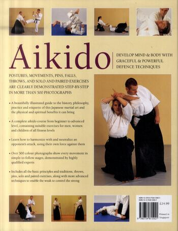 Aikido: Develop Powerful Mental Focus and Physical Stamina and Strength (Hardback)