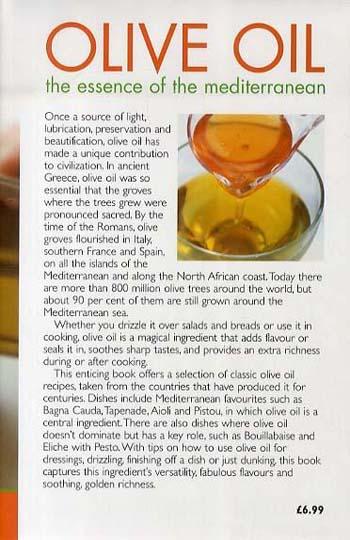 Olive Oil: The Essence of the Mediterranean (Hardback)