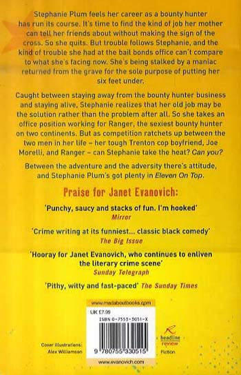 Eleven On Top: A fast-paced and witty adventure of chaos and criminals (Paperback)