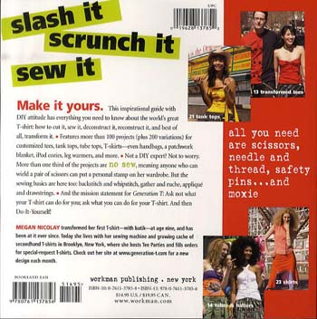 Generation T: 108 Ways to Transform a T-Shirt (Paperback)