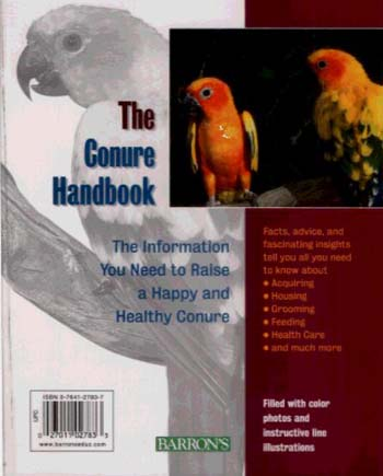 The Conure Handbook - Pet Handbooks (Paperback)
