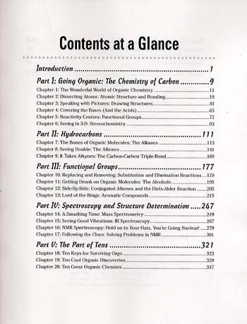 Organic Chemistry I For Dummies (Paperback)