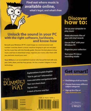 Windows XP Digital Music For Dummies (Paperback)