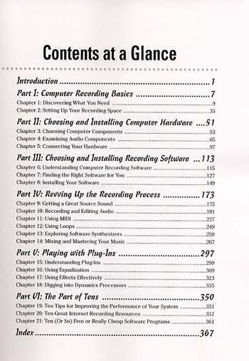 PC Recording Studios For Dummies (Paperback)