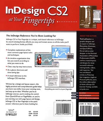 InDesign CS2 at Your Fingertips (Paperback)