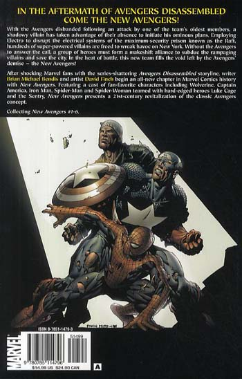 New Avengers Vol.1: Breakout (Paperback)