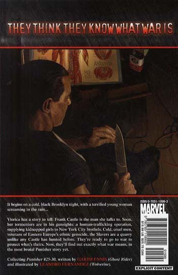 Punisher Max Vol.5: The Slavers (Paperback)