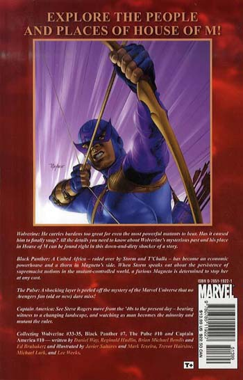 House Of M: World Of M Featuring Wolverine (Paperback)