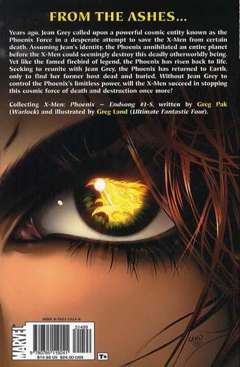 X-men: Phoenix - Endsong (Paperback)