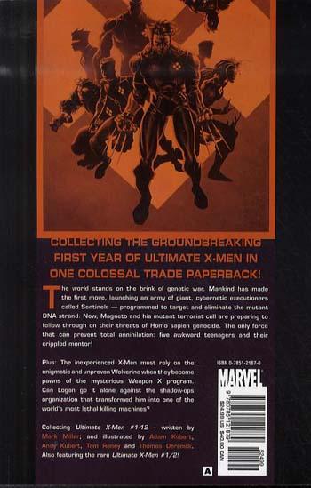 Ultimate X-Men: Ultimate X-men Ultimate Collection - Book 1 Ultimate Collection Book 1 (Paperback)