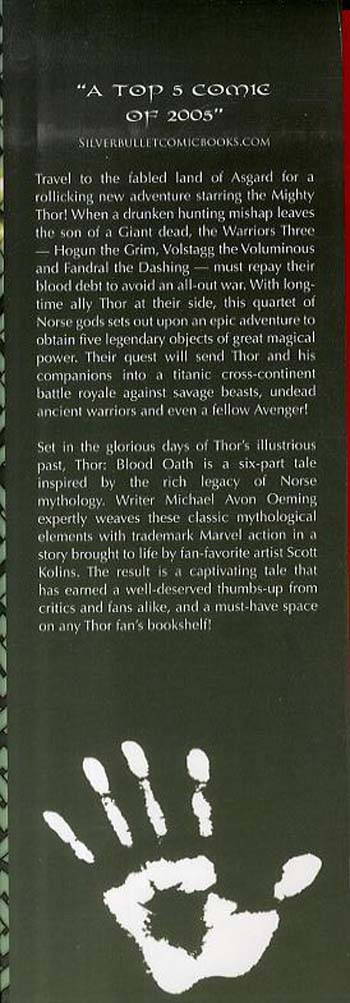 Thor: Blood Oath - Oversized (Hardback)