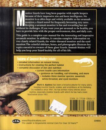 Savannah Monitors - Complete Herp Care (Paperback)