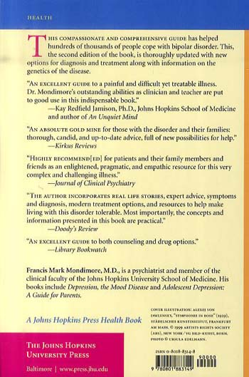 Bipolar Disorder: A Guide for Patients and Families - A Johns Hopkins Press Health Book (Paperback)