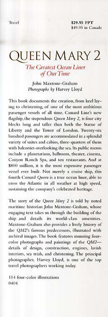 Queen Mary 2: The Greatest Ocean Liner of Our Time (Paperback)