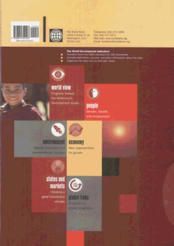World Development Indicators 2003 (Paperback)